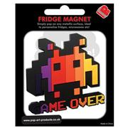 Space Invaders Fridge Magnet